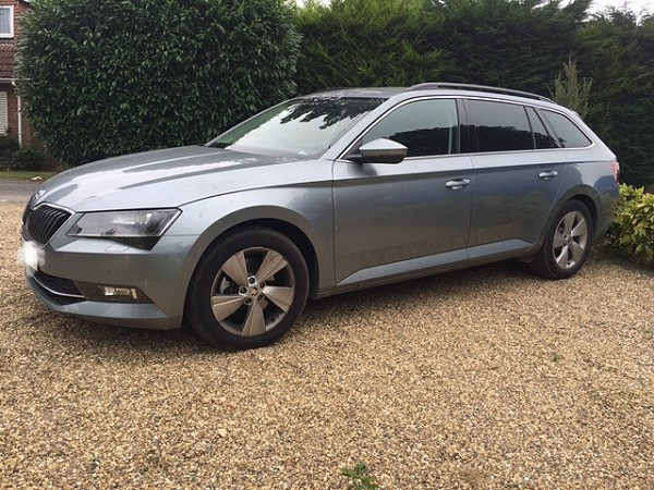 New Addition to Our Fleet - Skoda Superb Estate